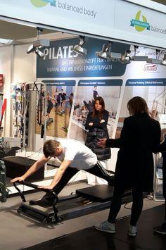 Unser Novacare/Sissel Stand auf der FIBO 2016 in Köln: Das Polestar Team sorgt für Action an unseren Balanced Body Geräten