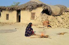 Dhallbedi Peernder village in Awaran / Baluchistan / Naseer Ahmed