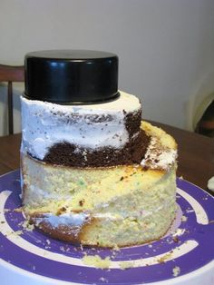 Spiral cake how to pics