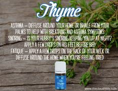 Thyme has a spicy, warm, herbaceous aroma that is both powerful and soothing.  How do you like to use Thyme essential oil?