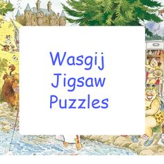 Collection of the Ravensburger Wasgij jigsaw puzzles (and some solutions too).