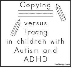 Handwriting, Motor Skills, Motor Memory and Autism