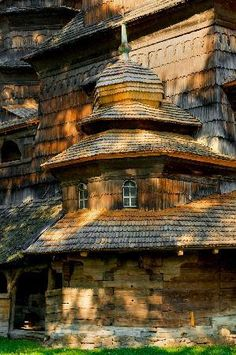 Fotos de Ucrania -   Drohobych,St.Yur Wooden Church