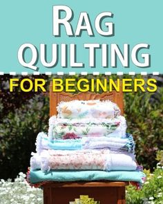A simple flannel rag quilt tutorial on how to make a rag strip quilt tutorial in three hours.