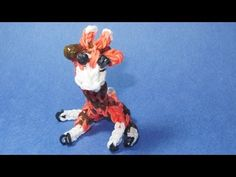 Rainbow Loom Charms: GIRAFFE Charm: How To Tutorial / Design (DIY Mommy)