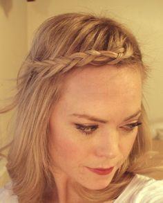 Bohemian braids - video tutorial