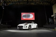 The all-new Jaguar F-Type Coupe on display ahead of the 2013 L.A. Auto Show. follow all our auto coverage at www.latimes.com #autos #cars