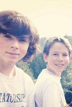 Chandler and your Brother Grayson Riggs ♥ Beautiful