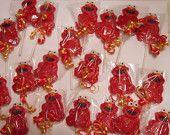 24 Sesame Street Characters First Birthday Chocolate Lollipops Party Favor Elmo Cookie Monster Big Bird Oscar Abby Burt Ernie Grover Elmo First Birthday, Lollipop Birthday, Second Birthday Ideas, First Birthday Parties, First Birthdays, Christmas Party Favors, Birthday Party Favors, Birthday Gifts, Christmas Parties