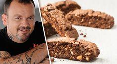 Ιταλικό μπισκότο espresso-φιστίκια Biscuit Cookies, Chocolate, Stevia, Biscotti, How To Stay Healthy, Sweet Recipes, Sweet Tooth, Healthy Eating, Sweets