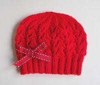 Marianna's Lazy Daisy Days: Bibi Baby Hats ~ Newborn and 0 - 3 months Baby Hat Knitting Patterns Free, Baby Cardigan Knitting Pattern, Baby Hat Patterns, Baby Hats Knitting, Knitted Hats, Free Knitting, Crochet Patterns, Free Pattern, Knitting Ideas