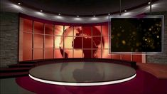 virtual screen studio animation backgrounds moving greenscreen interactive footage