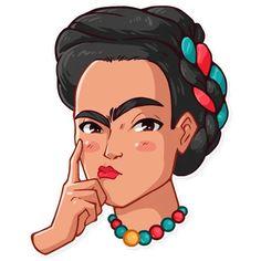 Telegram Stickers, Real People, Caricature, Brows, Clip Art, Disney Princess, Emoji, Kawaii, Logo
