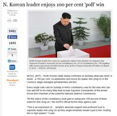 North Korea elections are the best  // funny pictures - funny photos - funny images - funny pics - funny quotes - #lol #humor #funnypictures