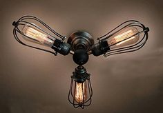 Unitary™ Vintage Barn Semi Flush Mount Light Max 180W With 3 Lights Painted Finish Unitary http://www.amazon.com/dp/B00M6JQ3DG/ref=cm_sw_r_pi_dp_-c7cub0X002Z1