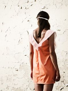 Streetwear - eisbörg Kleid Kalimba mandarine - ein Designerstück von eisboerg bei DaWanda