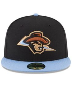 on sale 027ac 559ed New Era Omaha Storm Chasers Copa de la Diversion 59FIFTY Fitted Cap - Black  7 3