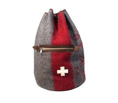 Swiss Army Blanket Sports Bag / Backpack by PhilosophieBySophie