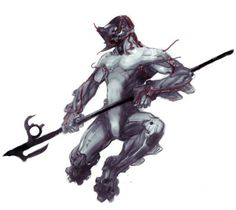 Excalibur concept art from the 2004 version of Dark Sector.
