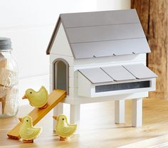 Dollhouse chicken coop