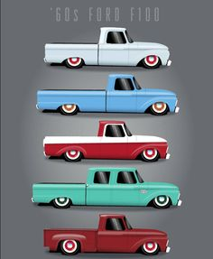 I absolutely am keen on this finish color for this Vintage Big Ford Trucks, Classic Pickup Trucks, Old Pickup Trucks, Ford Classic Cars, Hot Rod Trucks, Diesel Trucks, Cool Trucks, Chevy Trucks, 1966 Ford F100