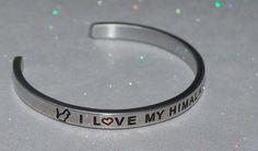 I Love My Himalayan Cat |:| Handmade & Polished Bracelet