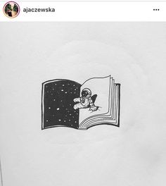 spaceman, Space man, sitting on the book, writing another chapter, space, pages, notebook, tattoo design, space tattoo