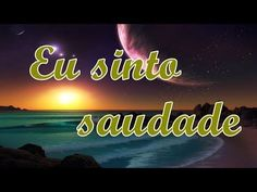 Eu sinto saudade - Linda mensagem de saudade -Vídeo de saudade - vídeo para whatsapp - YouTube Game Background, Videos Tumblr, Romance, Neon Signs, Youtube, Memes, Blog, Slot Cars, Sim