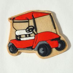 Golf Cart Cookie | These were part of a gift basket that was… | Flickr