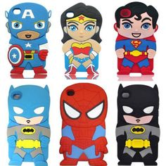 Cartoon hero case