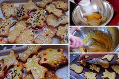 Ingrédients : – 100g de farine – 30g de sucre – 50g de poudre d'amande – 1 jaune d'oeuf – 70g de beurre – 1 sachet de sucre vanillé – Arôme vanille Recette présentée parElsalifeandvlogs