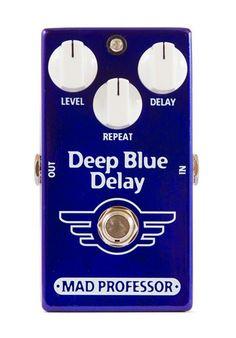 Mad Professor Deep Blue Delay Effect Pedal