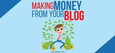 Making Money From Your Blog  Among one of the most preferred means for blog sites to create income