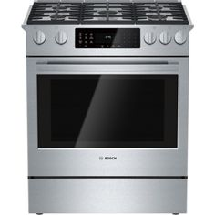 Bosch 800 HDI8054U Slide‑in  Dual Fuel Convection Range