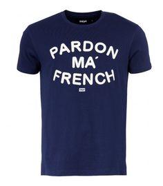 T-Shirt Unkut Pardon Navy
