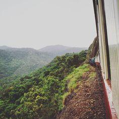 Close to the edge. #OldPhotos #KurandaScenicRailway #Kuranda #Train #Cairns #Queensland #Australia #Y2011