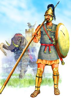 Carthaginian soldier during the Punic Wars with Rome