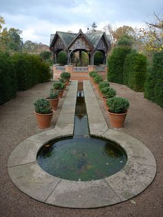 The Formal Garden by wheelbent, via Flickr