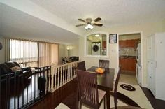 2 bed, 2 bath apartment at 5 San Romano Way for sale Canada Real Estate, Divider, San, Table, Room, Furniture, Home Decor, Bedroom, Rum