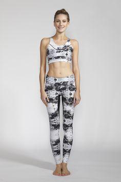 LUCAS HUGH Rover Print Leggings and Sports Bra  #fitness #fashion #style