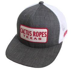 89fc6b73d4302 HOOey Cactus Ropes Denim Trucker Cap