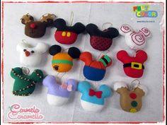 Feltrando sem Medo # especial de natal bolas de natal Mickey - YouTube