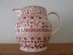 A lot of people would love to get their hands on this gorgeous 6pt jug! A special on the Open Day