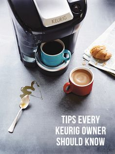 Tips for using your Keurig for MUCH more than just coffee...and for keeping your machine in tip-top shape!