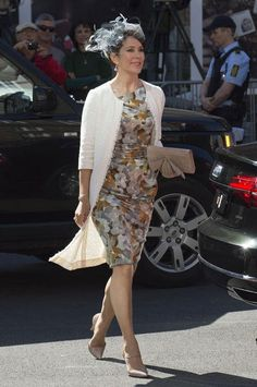 Princess Mary was just voted the most stylish royal - come see more of her style here
