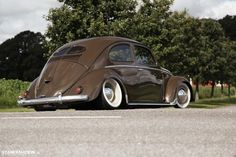 VERY low classic VW Beetle