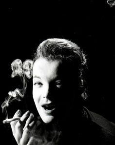 "mattybing1025: ""Romy Schneider photographed by Peter Basch, c. 1950s."""