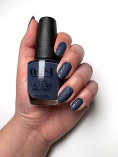 #NailArt is always at it's finest when collaborating with @ultabeauty to create fashion forward fall looks. #LessIsNorse with our Matte Top Coat and free form shiny spots!   #ColorIsTheAnswer #OPIIceland #NailArtInspo #FallMani #DIYNails #FallFashion #Fall2020Trends #BlueNails #MatteNails #TrendyNails #DarkNails Opi Nail Polish Colors, Opi Gel Polish, Yellow Nail Polish, Fall Nail Colors, Blue Nails, Nail Polishes, Manicures, Interview Nails, Dry Nails
