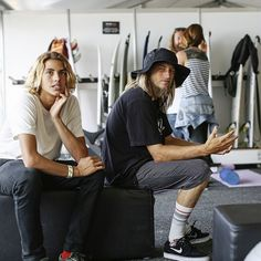 Curren Caples and Greyson Fletcher. Beautiful Boys, Pretty Boys, Beautiful People, Skater Boys, Surfer Style, Surf Girls, Cute Guys, Pretty People, Outfits