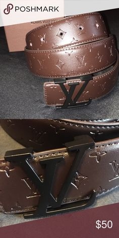1c5a6f87f61f 🔥🔥🔥Louis Vuitton Monogram Belt🔥🔥🔥 Brand new with box fits in waist  Tags  Jordan Bape Nike Stussy Nmd Gucci Vintage Retro Trendy Tommy Hilfiger  Polo ...